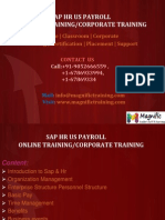 Sap Hr Us Payroll Online Training | Payroll with Certification
