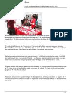 23/11/13 Tiempoenlinea Disminuyen Casos de Sida en Oaxaca