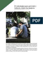 24/11/13 Nss Refuerza SSO Estrategias Para Prevenir y Atender La Violencia Contra Las Mujeres
