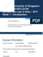 Comp Law in Asia Lecture Slides Week 1