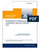 6 Probabilistic Modeling as an Exploratory Decisionmaking Tool