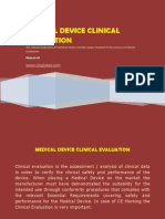 medicaldeviceclinicalevaluation-130810064122-phpapp01