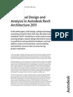 Conceptual Design in Revit Architecture Whitepaper