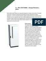 Product Description Outdoor System DELTA