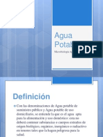 2. Agua Potable.