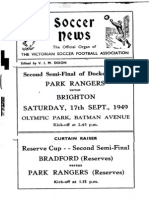 Soccer News 1949 September 17