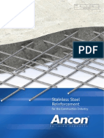 ANCON - Stainless Steel Reinforcement