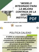 Modelo Mejora Continua 2008