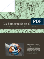 la homeopatía en el mundo