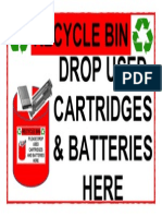 17. Hazardous Waste Recycle Bin