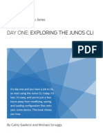 Exploring the Junos CLI