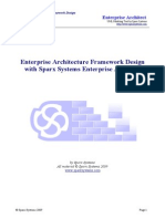 Enterprise Architecture Framework Design