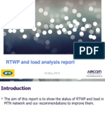 RTWP & Load Analysis Report 22-05-2013