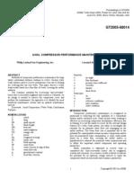 GT2005-68014 Axial Compressor Maintenance