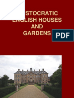 Aristocratic English Houses