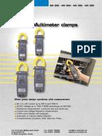 AC-DC Multimeter Clamps