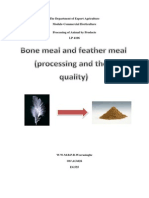 Bone Meal and Feather Meal