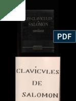 Pierre Belfond - Clavicules de Salomon-Manus 1641
