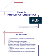 Predavanje Povratna logistika