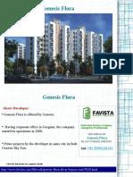 Genesis Flora Bhiwadi Call Now @ 09999536147