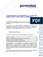 CLASIFICACION DE RESISTENCIA AL FUEGO DE CONDUCTOS DE VENTILACIÓN Y CHIMENEAS