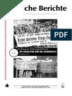 Politische Berichte Nr.2 / 1998