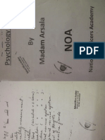 Psychology Notes by Madam Arsala File01