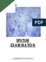 Sputum Examination