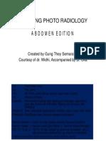 Radiology Teaching Photo Abdomen