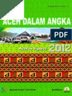 Aceh Dal Am Angka 2012