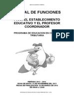Manual Del Profesor Coordinador Para Segundo de Bachillerato 2013-2014