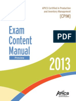 2. Master Planning of Resources ECM Preview