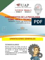 Semana 2 Fundamentos de la Psicologia como arte y tecnología