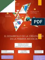 Desarrollo de La Creatividad y Arte en Primera Infancia