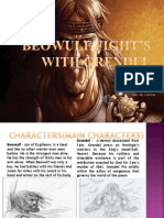 Beowulf fight's with Grendel