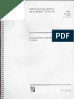 Norma UNIT 24-48 Señalamiento de instalaciones eléctricas en planos