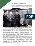 M.Galovic - Principova spomen-ploca Hitlerov licni plen