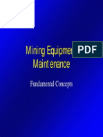 Mining Equipment Maintenance