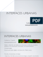 Interfaces Urbanas para arte y comunicación