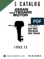 Tohatsu Part Catalogue NS50C-60A-70A2(1992)-(M256B)