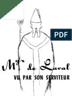 Mgr de Laval Vu Par Son Serviteur