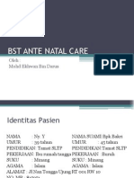 BST ANTE NATAL CARE