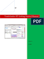 Getting TradeGuiner Manual