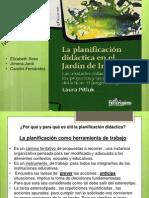 Presentación Planificación para didáctica.