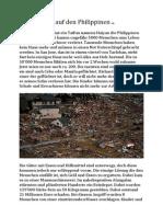 Katastrophe Auf Den Philippinen-Ah