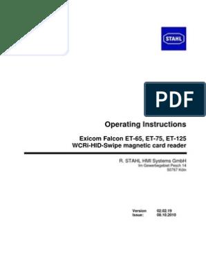 Falcon ET-65 ET-75 ET-125 Manual | Power Supply | Capacitor