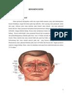 Status Ujian Rhinosinusitis