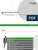 Notes Sharepoint Migration