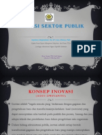 Inovasi Sektor Publik - Septiana Dwiputrianti - 31 Oktober 2013