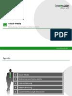 Social Media - Bedeutung und Einsatz in Unternehmen